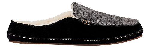 Womens OluKai Alaula Casual Shoe - Fog/Black 8