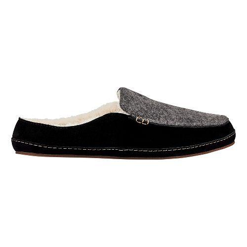 Womens OluKai Alaula Casual Shoe - Fog/Black 6