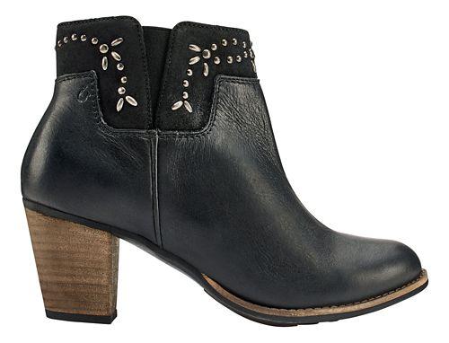 Womens OluKai Ho'ohilu Casual Shoe - Black/Black 8
