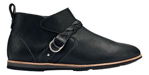 Womens OluKai Ho'olu Casual Shoe - Black/Black 8.5