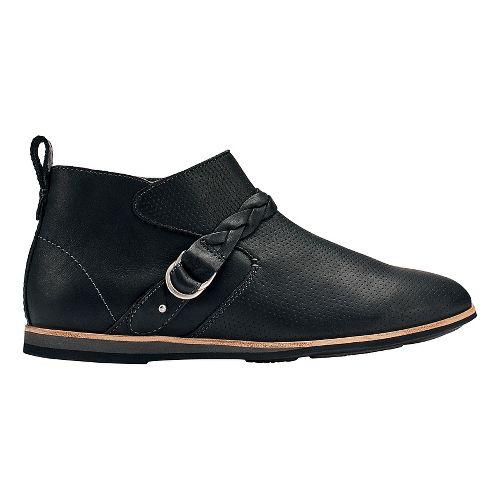 Womens OluKai Ho'olu Casual Shoe - Black/Black 7.5