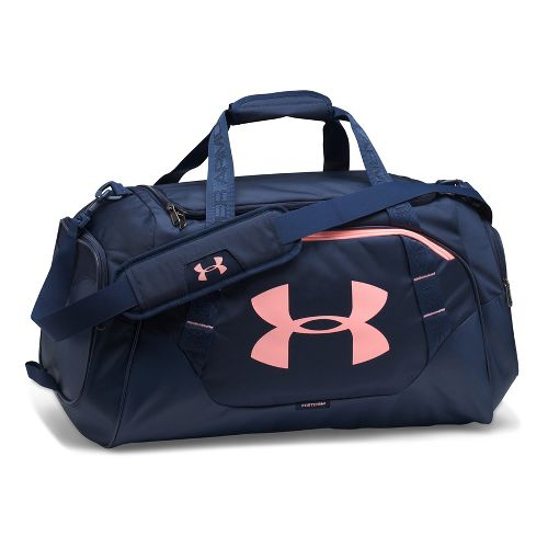 Under Armour Undeniable 3.0 Medium Duffle Bags - Midnight Navy/Coral