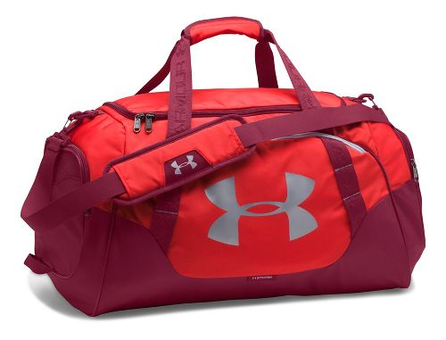 Under Armour Undeniable 3.0 Medium Duffle Bags - Red/Black Currant