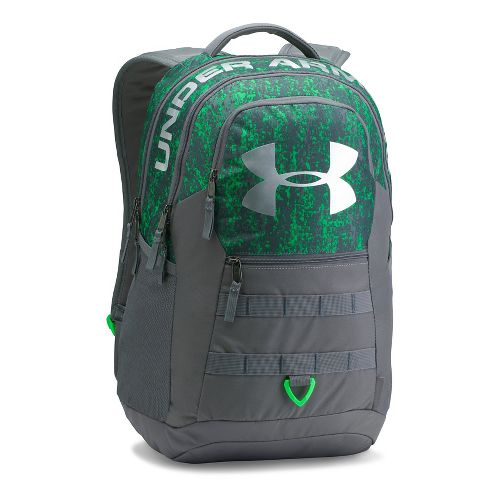 Under Armour Big Logo 5.0 Backpack Bags - Lime Twist/Graphite