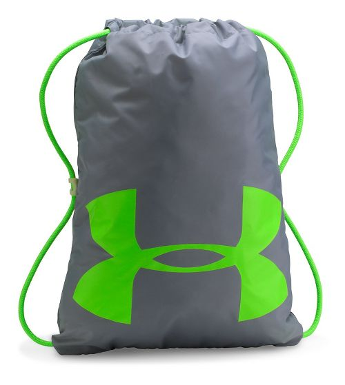 Under Armour Ozsee Elevated Glow Sackpack Bags - Overcast Grey