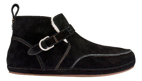 Womens OluKai Ola Hou Casual Shoe - Black/Black 6
