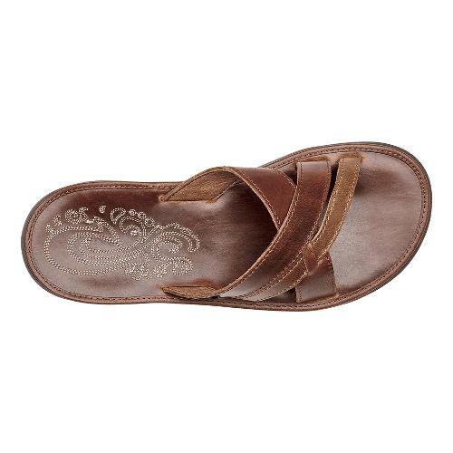 Womens OluKai Paniolo Slide Sandals Shoe - Natural/Natural 7
