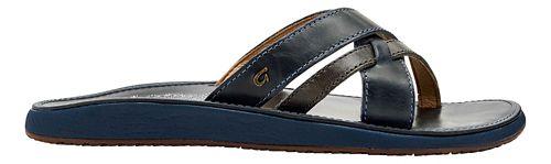 Womens OluKai Paniolo Slide Sandals Shoe - Indigo/Indigo 11