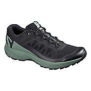 Mens Salomon XA Elevate Trail Running Shoe - Black/Green 11