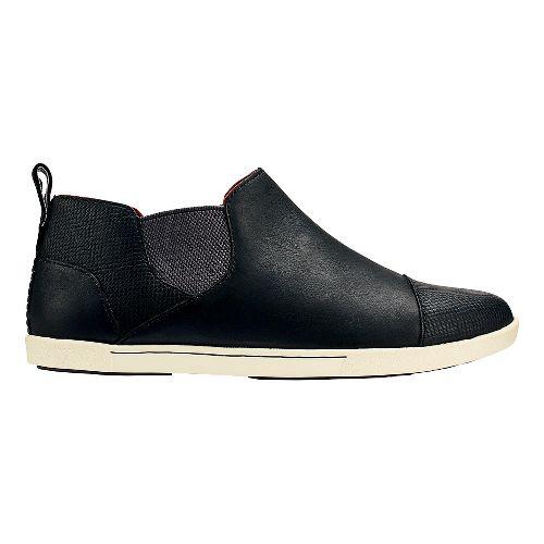Womens OluKai Waipahe Casual Shoe - Black/Black 10