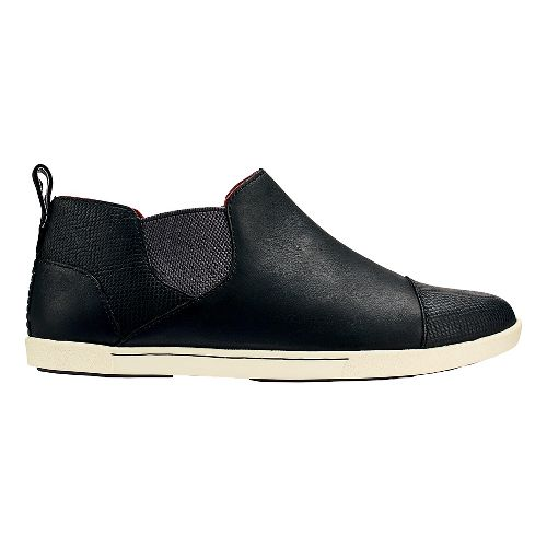 Womens OluKai Waipahe Casual Shoe - Black/Black 11