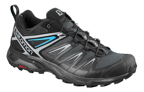 Mens Salomon X Ultra 3 Hiking Shoe - Black 10.5