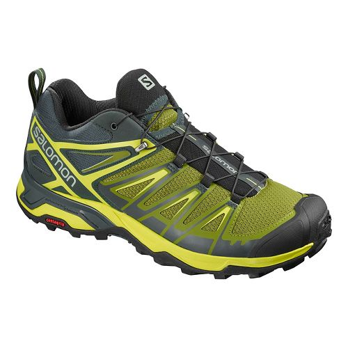 Mens Salomon X Ultra 3 Hiking Shoe - Guacamole 11