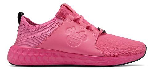 Kids New Balance Fresh Foam Cruz Disney Minnie Pack Running Shoe - Black/Red 5.5Y