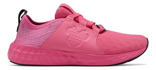Kids New Balance Fresh Foam Cruz Disney Minnie Pack Running Shoe - Pink 13C