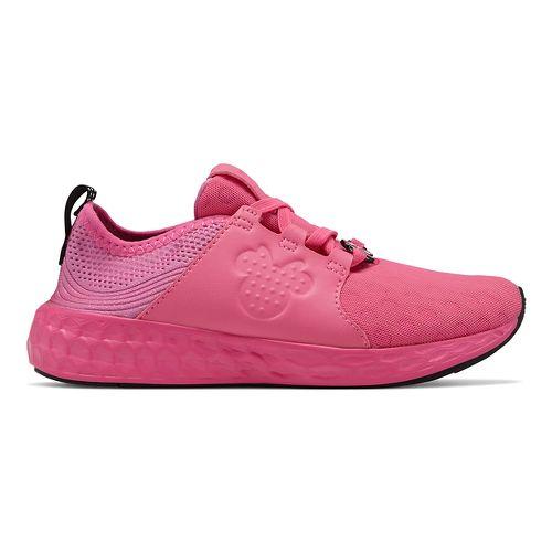 Kids New Balance Fresh Foam Cruz Disney Minnie Pack Running Shoe - Pink 1Y