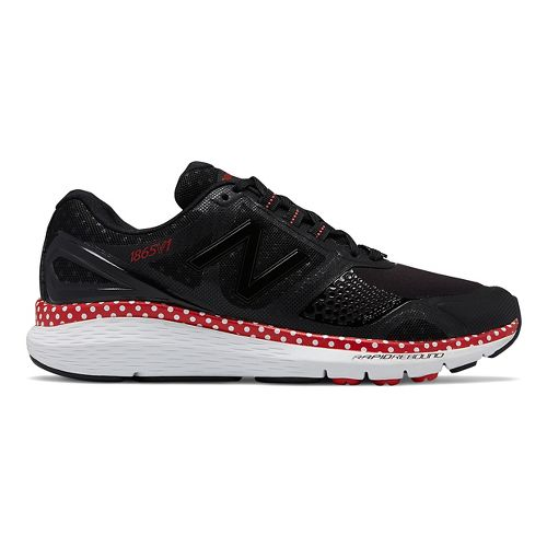 Womens New Balance 1865v1 Disney Minnie Pack Walking Shoe - Black/Red 7.5