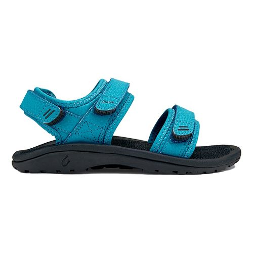 OluKai Pahu Sandals Shoe - Marine/Trench Blue 2Y/3Y