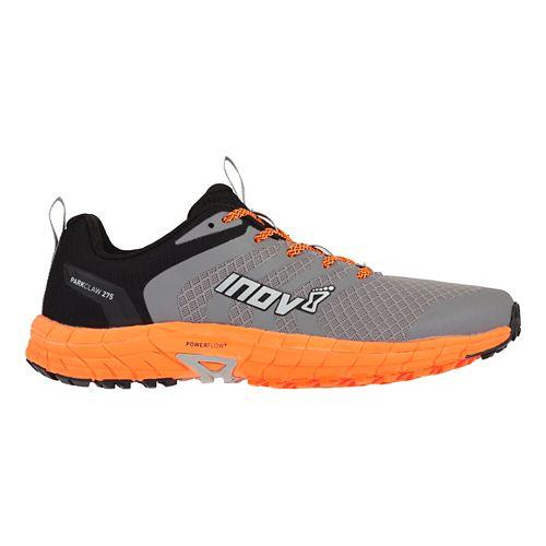 Mens Inov-8 Parkclaw 275 Trail Running Shoe - Grey/Orange 8.5