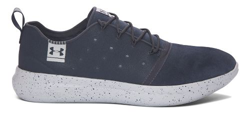 Mens Under Armour UA Charged 24/7 Low Suede Running Shoe - Grey/Aluminum 11