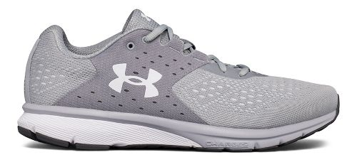 Mens Under Armour Charged Rebel Running Shoe - Grey/Elemental 9