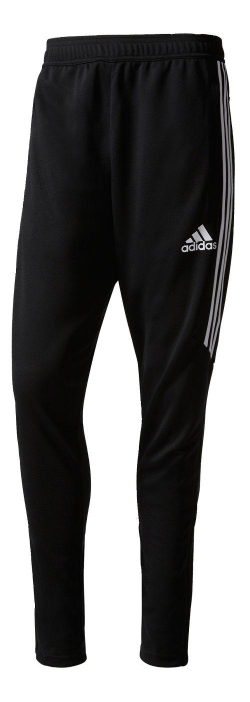 Mens adidas Tiro 17 Training Pants - Black/White S