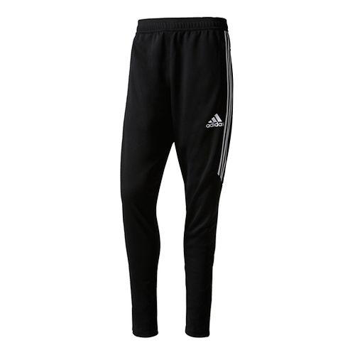 Mens adidas Tiro 17 Training Pants - Black/White M
