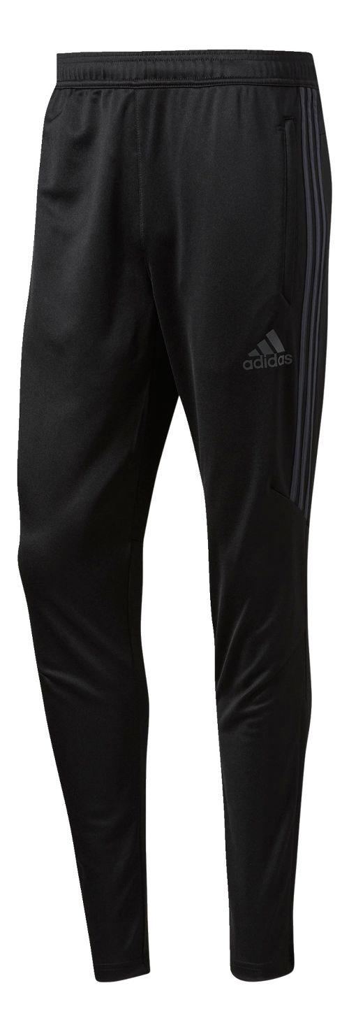 Mens adidas Tiro 17 Training Pants - Black/Dark Grey S