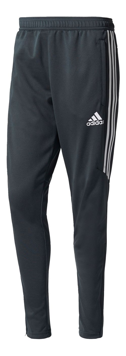 Mens adidas Tiro 17 Training Pants - Dark Grey/White L