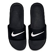 Mens Nike Kawa Slide Sandals Shoe - Black/White 11