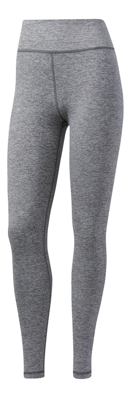 Womens adidas Performer High-Rise Tights & Leggings Pants - Grey Five Heather XL