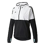 Womens adidas Tango Future Hybrid Casual Jackets - White/Black L