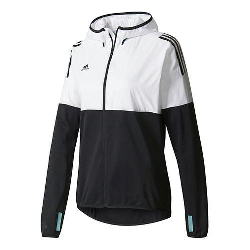 Womens adidas Tango Future Hybrid Casual Jackets - White/Black L