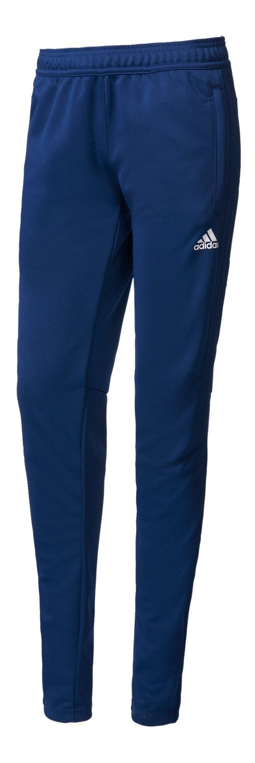 Womens adidas Tiro 17 Training Pants - Dark Blue/White L