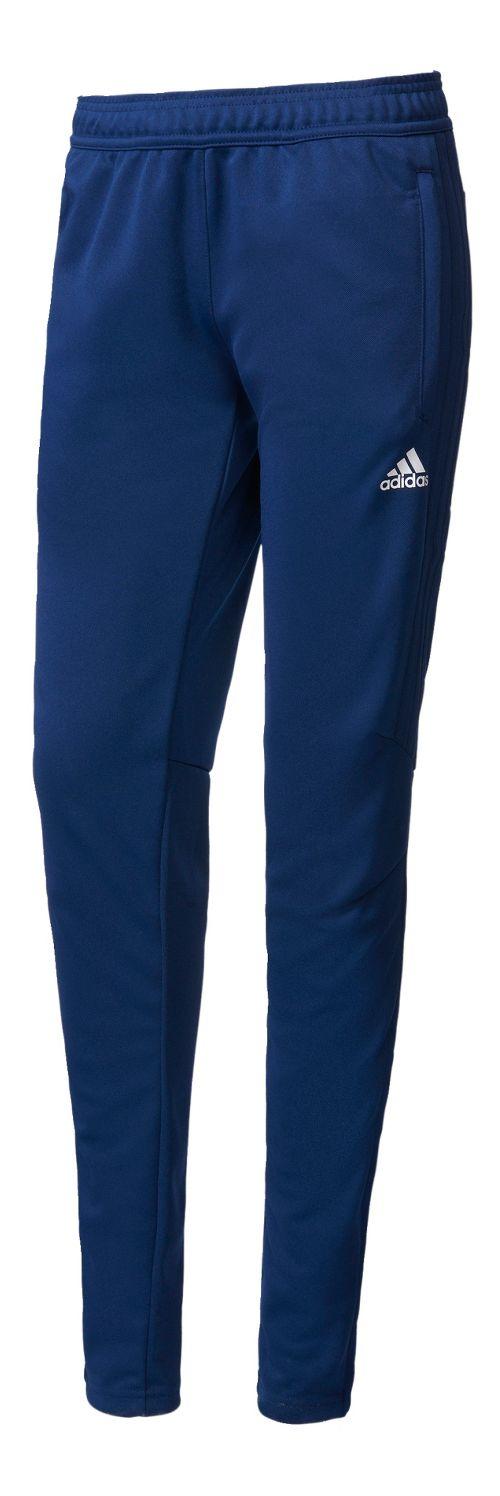 Womens adidas Tiro 17 Training Pants - Dark Blue/White S
