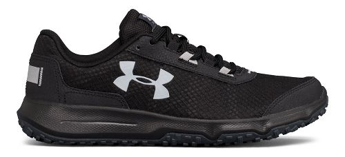 Mens Under Armour Toccoa Trail Running Shoe - Stealth Grey/Black 10.5