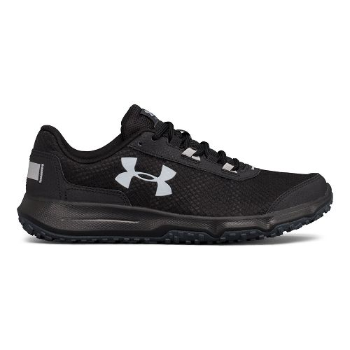 Mens Under Armour Toccoa Trail Running Shoe - Stealth Grey/Black 9.5