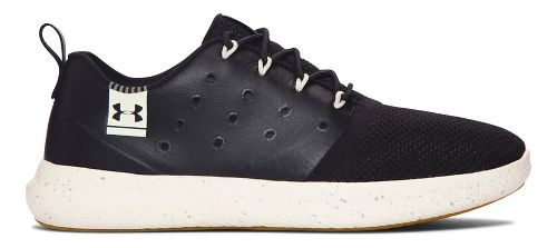 Womens Under Armour UA Charged 24/7 Low Lea Running Shoe - Black/Stone 10