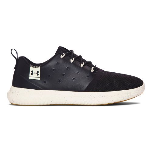 Womens Under Armour UA Charged 24/7 Low Lea Running Shoe - Black/Stone 6.5