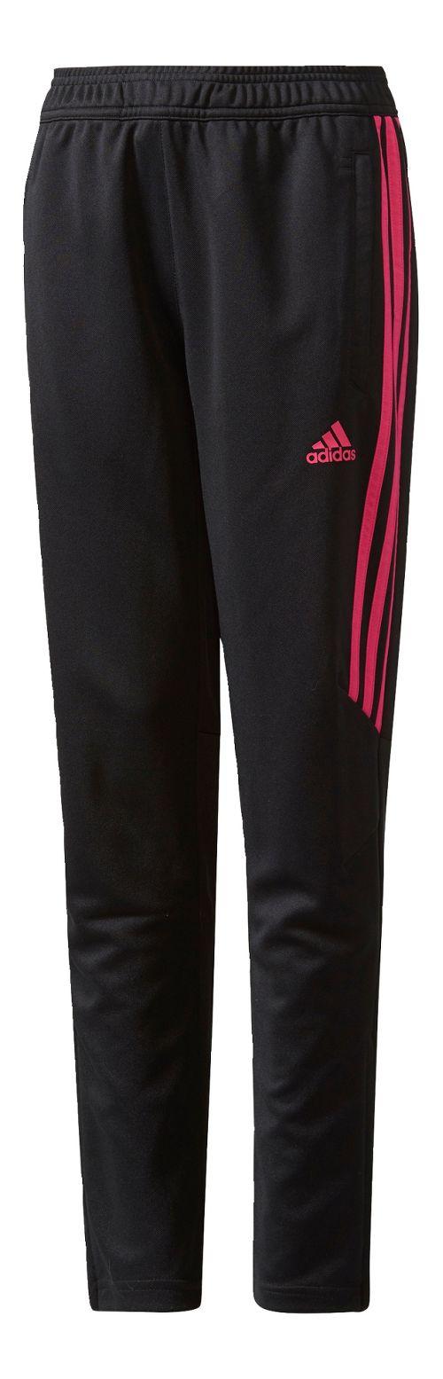 adidas Kids Tiro 17 Training Pants - Black/Shock Pink YXS