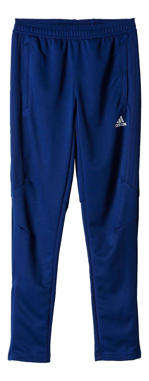 adidas Tiro 17 Training Pants - Dark Blue/White YL