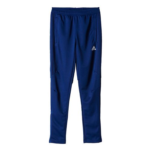 adidas Kids Tiro 17 Training Pants - Dark Blue/White YXL