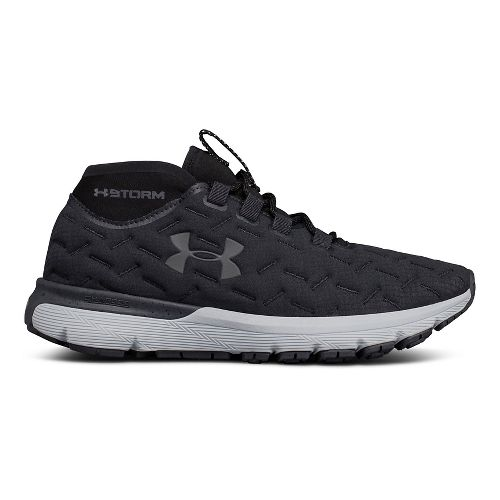 Womens Under Armour Charged Reactor Run Running Shoe - Anthracite Grey 5.5