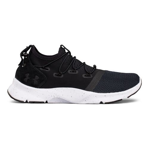 Womens Under Armour UA Drift 2 Running Shoe - Black/White 6