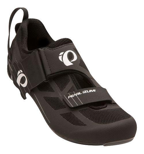 Mens Pearl Izumi Tri Fly Select V6 Cycling Shoe - Black/Grey 12.5