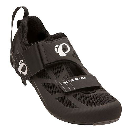 Mens Pearl Izumi Tri Fly Select V6 Cycling Shoe - Black/Grey 11.5