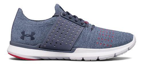 Womens Under Armour Speedform Slingwrap Running Shoe - Apollo Grey/Solder 8.5