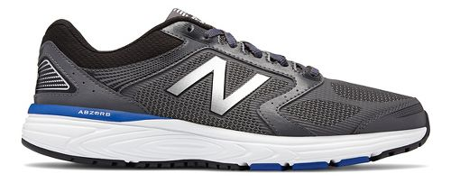 Mens New Balance 560v7 Running Shoe - Magnet/Blue 9