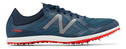 Mens New Balance LD5Kv5 Track and Field Shoe - Flame/Silver 11.5