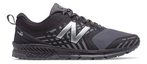 Mens New Balance Nitrel Trail Running Shoe - Black/Castlerock 12